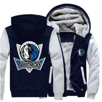 NBA DALLAS MAVERICKS THICK FLEECE JACKET