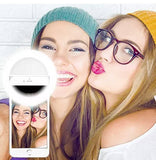 Smartphone LED Ring Selfie Light Night Darkness Selfie Enhancing Photography Flash Ring Light