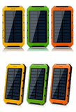 PORTABLE WATERPROOF SOLAR POWER BANK CHARGERS