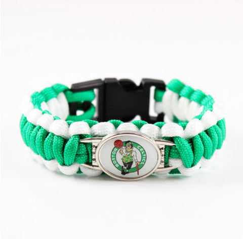 NBA Boston Celtics Paracord Survival Bracelet