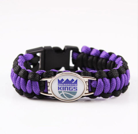 NBA Sacramento Kings Paracord Survival Bracelet