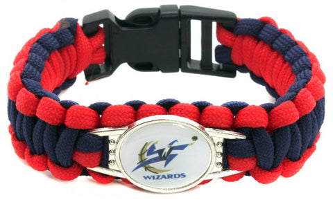 NBA Washington Wizards Paracord Survival Bracelet