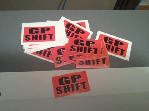 Gp Shift Racing Decals