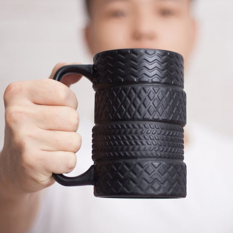 Porcelain Ceramic Tyre Coffee/Tea Mug