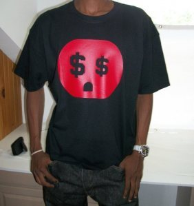 "The Connect ""Money Plug"" Tshirt: Black With Red Print - TshirtNow.net - 1"
