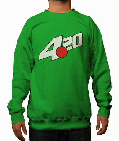 LIMITED EDITION: 7up 420 green Crewneck Sweatshirt