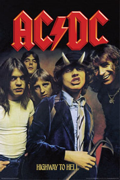 AC/DC Highway To Hell Poster - TshirtNow.net