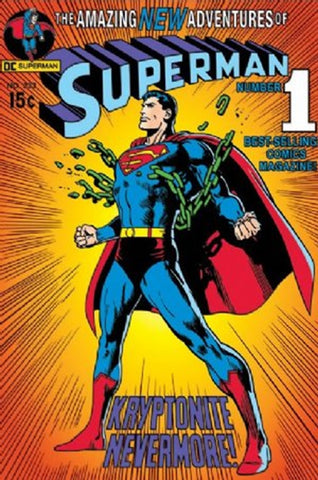 Superman Comic #1 Poster