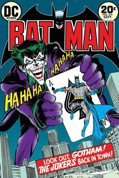 Batman Joker's Back Comic Poster - TshirtNow.net
