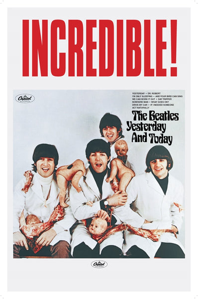 Beatles Yesturday And Today Poster - TshirtNow.net
