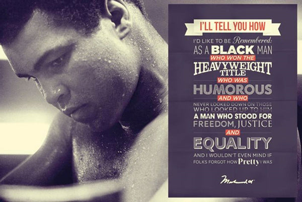 Muhammad Ali I'll Tell You How... Poster - TshirtNow.net