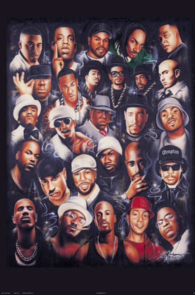 Rap Legends Poster - TshirtNow.net