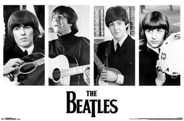 Beatles Instruments Poster - TshirtNow.net