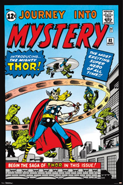 Thor Journey To Mystery Comic Poster - TshirtNow.net