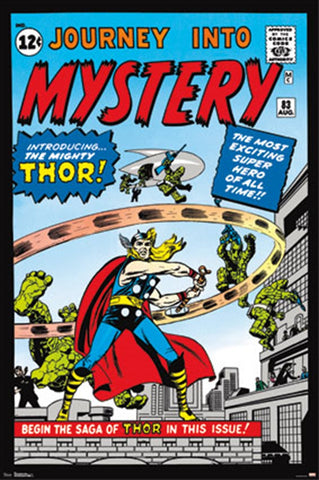 Thor Journey To Mystery Comic Poster