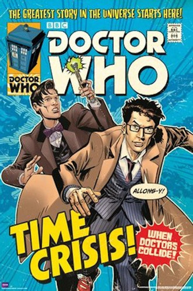 Doctor Who Time Crisis Comic Poster - TshirtNow.net