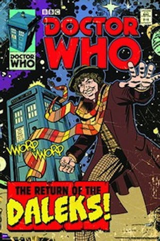 Doctor Who Return of the Daleks Comic Poster