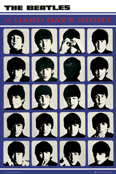 Beatles A Hard Day's Night Poster - TshirtNow.net