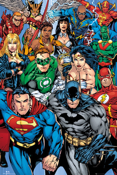 DC Comics Character Collage Poster - TshirtNow.net