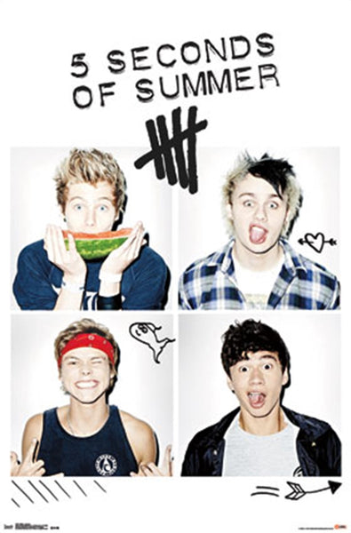5 Seconds Of Summer Poster - TshirtNow.net