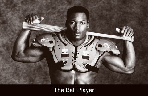Bo Jackson Ball Player Poster