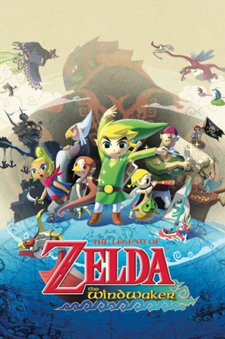 Zelda Windwaker Gaming Poster