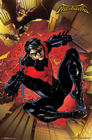 Nightwing Comic Poster