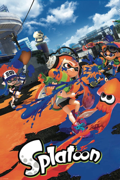 Splatoon Gaming Poster - TshirtNow.net