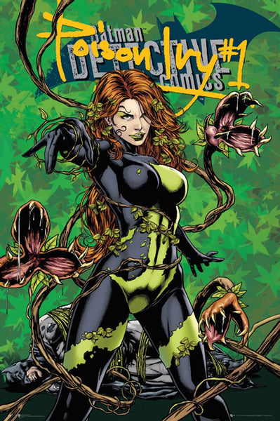 Poison Ivy Comic Poster - TshirtNow.net