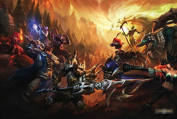 League Of Legends Gaming Poster - TshirtNow.net