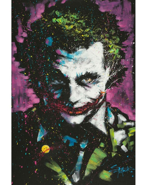 Batman Joker Ha Ha Portrait Comic Poster - TshirtNow.net
