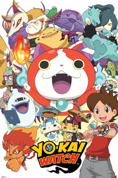 Yo-Kai Watch Gaming Poster - TshirtNow.net