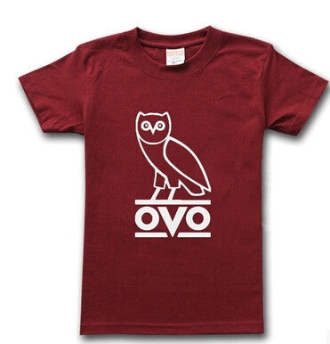 Drake Tshirt OVO Owl Gang T-Shirt Hip Hop Short Sleeve T Shirt