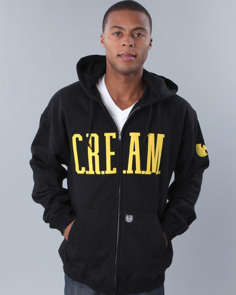 C.R.E.A.M. Cash Rules Everything Around Me Zip Up Hoodie - TshirtNow.net
