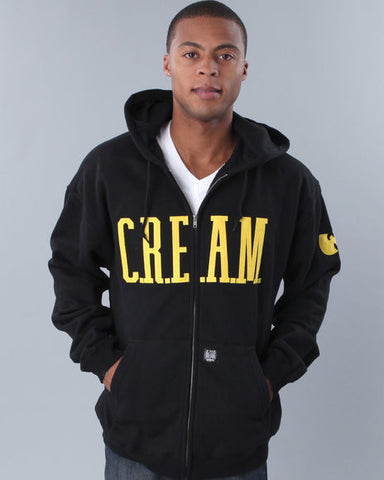 C.R.E.A.M. Cash Rules Everything Around Me Zip Up Hoodie