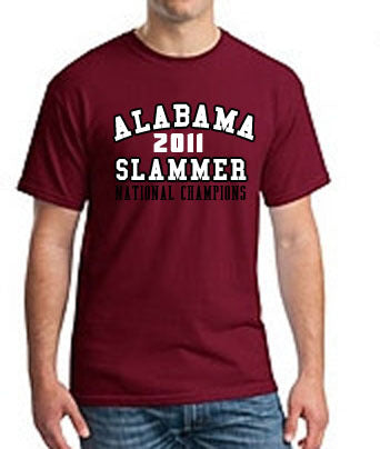 Alabama Slammer 2011 National Champions Tshirt