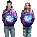 Worm Hole Allover 3D Print Hoodie