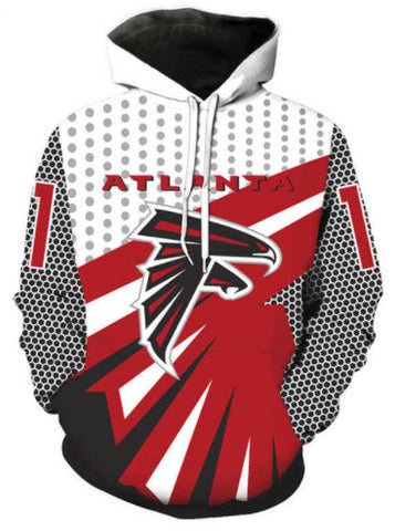 Atlanta Falcons Allover 3D Print Hoodie 240ce4efd