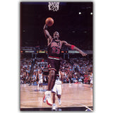 NBA Michael Jordan Basketball Sports Silk Canvas Poster Print Wall Art