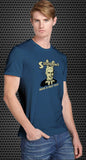 Shrooms: Have a nice trip Retro Spoof tshirt: Royal Blue Colored T-shirt - TshirtNow.net - 1