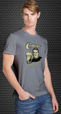 College: We drink more before 9am than most people drink all day! Retro Spoof tshirt: Ash Colored T-shirt - TshirtNow.net - 1