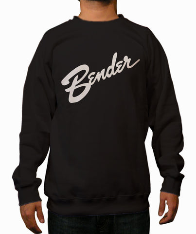 Bender Black Crewneck Sweatshirt