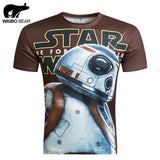 Star Wars Allover 3D Print Performance Tshirts - TshirtNow.net - 1