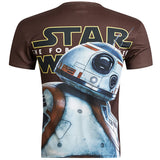 Star Wars Allover 3D Print Performance Tshirts - TshirtNow.net - 2