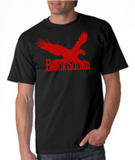 Brick Squad Tshirt: Black With Red Print - TshirtNow.net - 1