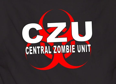 Czu Central Zombie Unit Tshirt