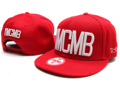 YMCMB Embroidered Logo Snapback Cap hat