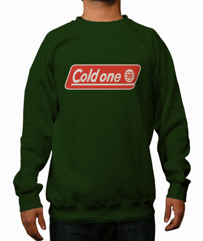 Cold One Dark Green Crewneck Sweatshirt