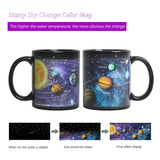 Space Collection Magic Color Changing 3D Ceramic Coffee/Tea/Milk Mugs