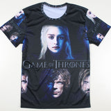 Game Of Thrones Faces Allover 3D Print Tshirt - TshirtNow.net - 1